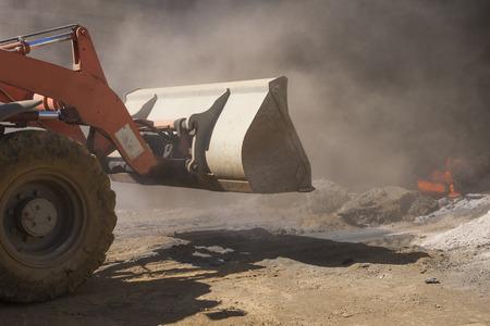 hauler: Bulldozer at work
