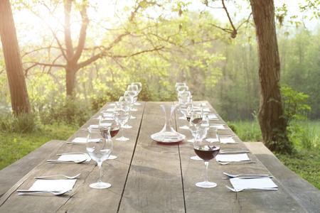 alfresco: Outdoor restaurant