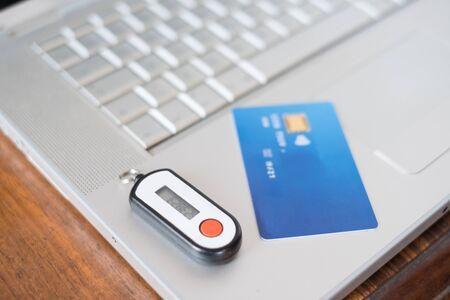 rsa: Contactless credit card and security pin generator , main focus on the password generator