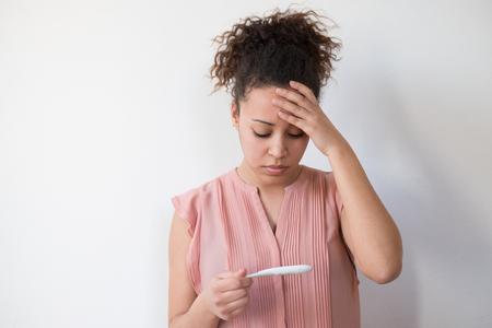 accidental: Black woman desperate after reading pregnancy test result