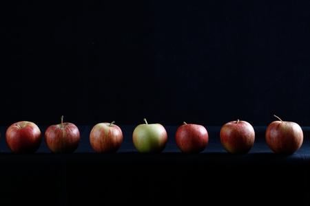 apple still life photo