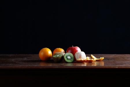 classic fruits still life photo
