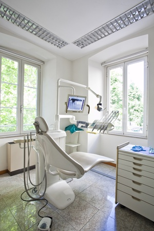 dentistry: dentist office interior Stock Photo