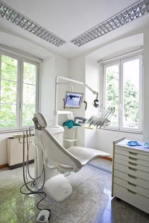 odontologia: interior de la Oficina de dentista