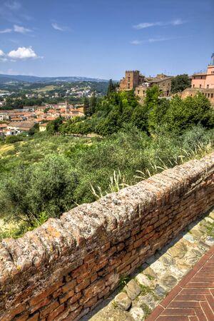tuscany village photo