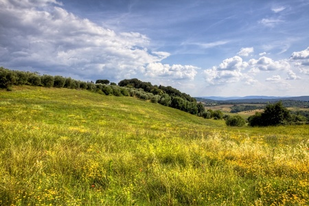 tuscany landscape photo