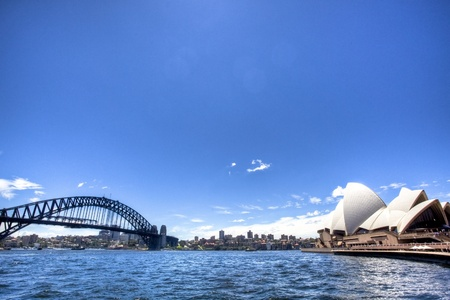 sydney harbour: Sydney Opera House Harbour Bridge