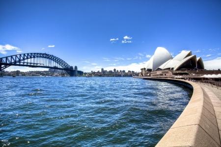 Le port de Sydney Opera House