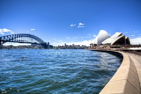 Sydney harbour opera house  Stock Photo - 10591688