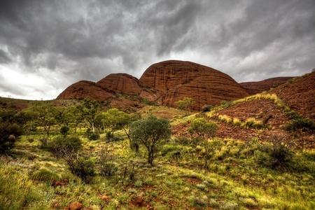 キングス ・ キャニオン オーストラリア 写真素材