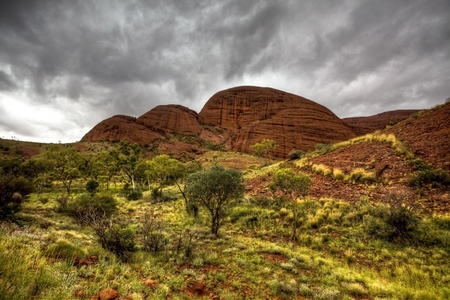 kings canyon australia Stock Photo