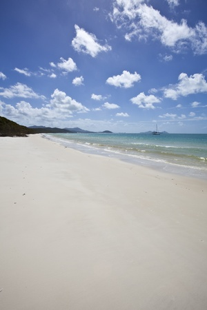 airlie: whitsundays island australia Stock Photo