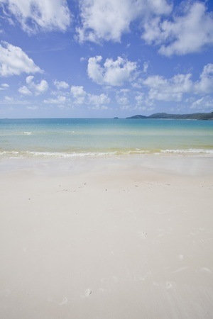whitehaven: whitsundays island australia Stock Photo
