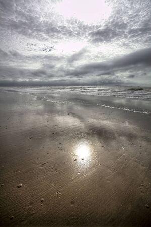 stormy beach photo