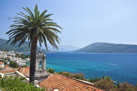 montenegro: herceg novi view in montenegro Stock Photo