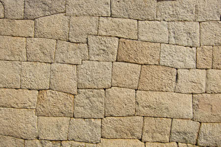 concrete block: Background of old stone wall texture