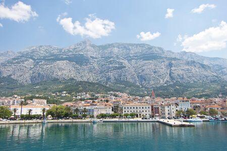 turistic: Makarska in Croatia, beautiful turistic town