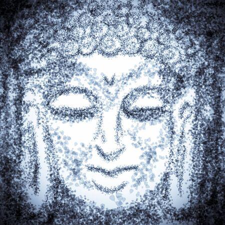3rd ancient: portrait of buddha
