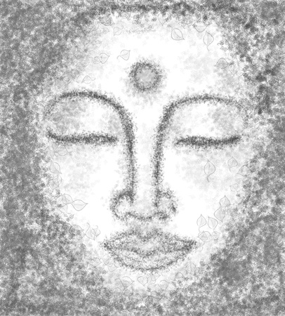 portrait of buddha photo