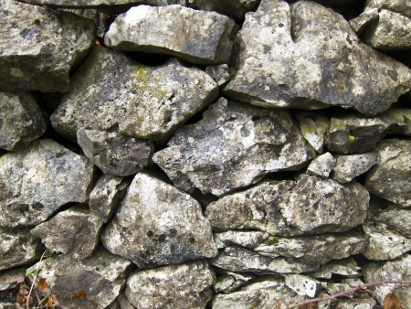 ancient stone wall texture background photo
