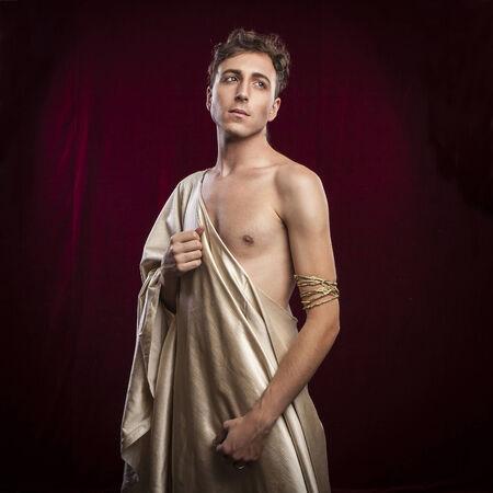 toga: retrato de hombre antiguo romano