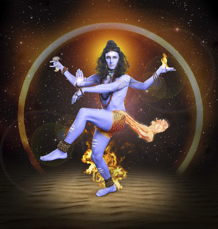 Shiva Nataraja, hindu god, Lord Siva in dancing pose. The creator and destroyer