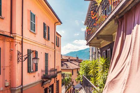 The beautiful small village of Bellagio on Como lake in Italy Stock fotó