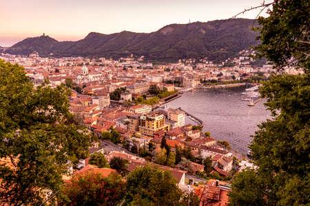 The beautiful city of Como in north Itatly Stock fotó