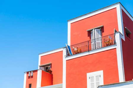 House facade in Ischia island, Italy
