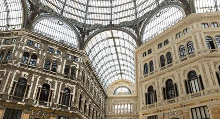 Galleria Umberto I in Naples, Italy