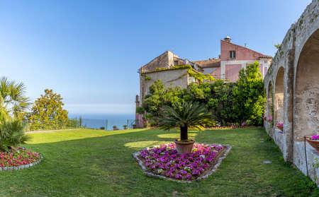 The wonderful village of Ravello in Amalfi Coast Italy
