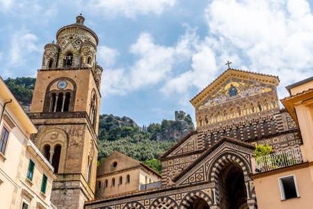 The beautiful village of Amalfi in the Amalfi Coast in Italy