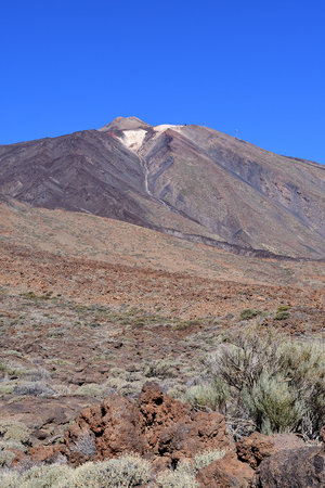 View of Mount Teide in Tenerife