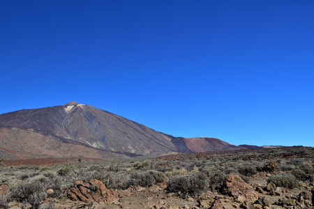 Scenic view of Mount Teide in Tenerife