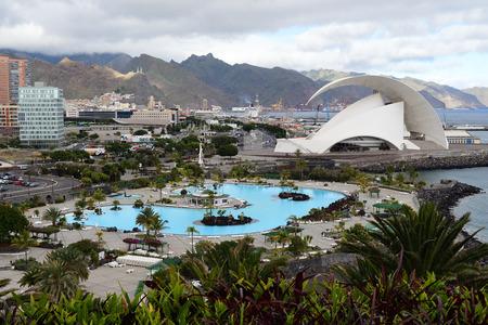 View of Santa Cruz de Tenerife in Tenerife