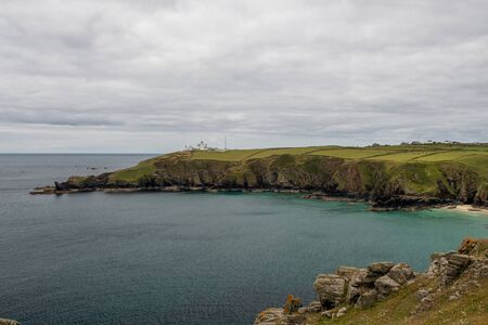 View of the scenery at The Lizard in Cornwall