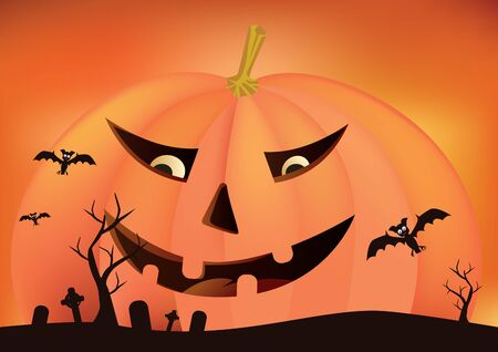 halloween party: Halloween party background Illustration