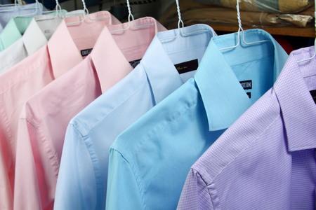 ironed: ironed shirt Stock Photo