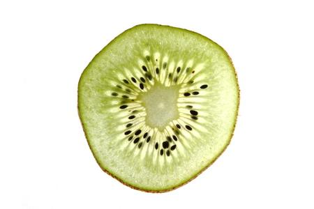 abstracto: rodaja de kiwi Stock Photo