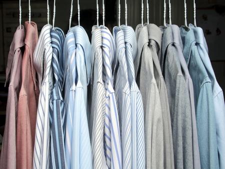 ironed shirt Stock Photo