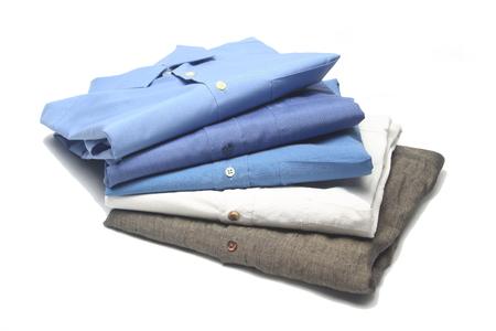 ironed shirt 写真素材