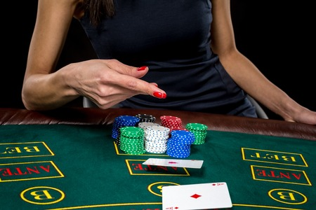 jack of clubs: Poker play. Cards in a players hand