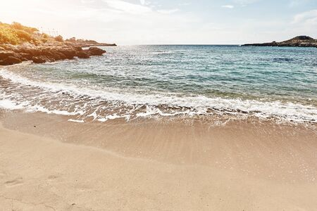 Breathtaking natural landscapes and seaside of Puglia, Italy. Stockfoto - 128587155