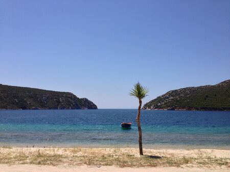 Beautiful Bay at Chalkidiki Greece