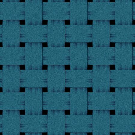 interlaced: square blue interlaced woven rendered denim texture