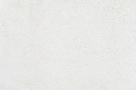 foamed: flat white styrofoam surface texture for various projects Stock Photo