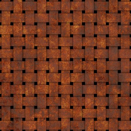 old square: square old dirty rusty grid procedural texture