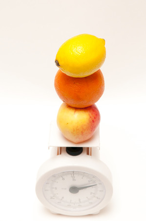 alimentacion balanceada: Concepto de pérdida andweight dieta equilibrada