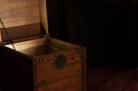 tresure: Treasure chest Stock Photo