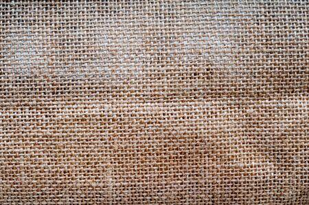 reusable: Woven canvas material texture from a reusable bag